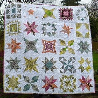 The Star Beast - A Brit Bee Quilt | by Laura @ Needles, Pins and Baking Tins