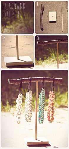 DIY Headband Holder | by jenna_beth