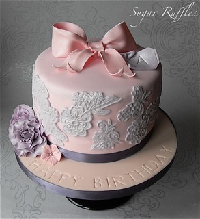 Birthday Cake | by Sugar Ruffles