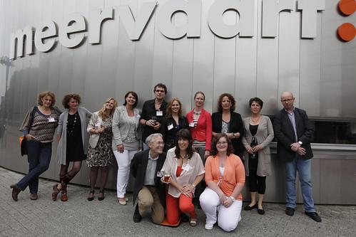 De symposiumcommissie | V.l.n.r.: Paulien van Dijen ... Emmy Verwaal