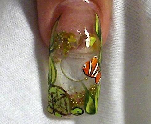 'Aquarium Nails' | Conhecem a técnica ou já ouviram falar ...
