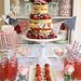 Jubilee cake desert table