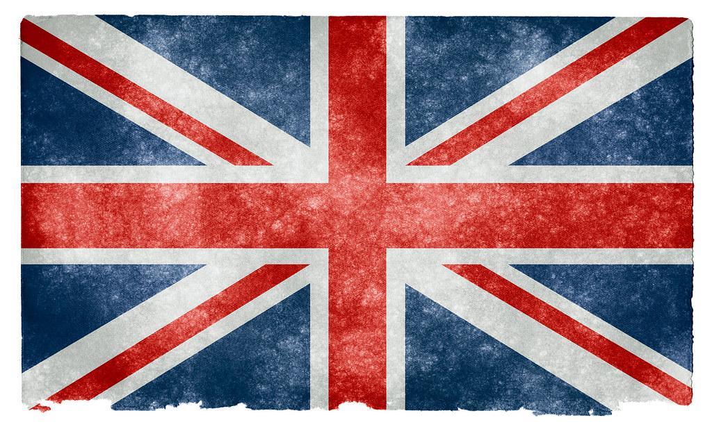 Vintage British Flag Wallpaper UK Grunge Flag | Grung...