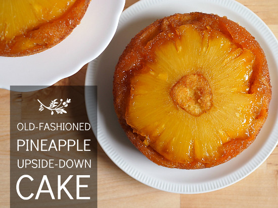 Old Fashioned Pineapple Upside Down Cake