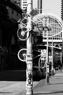 172/365 - Ghost Bikes | by Meghan (Rambling On. . . )