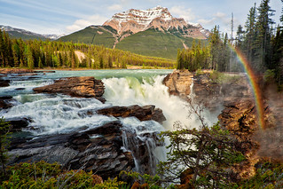 Athabasca Falls | by photos by Crow
