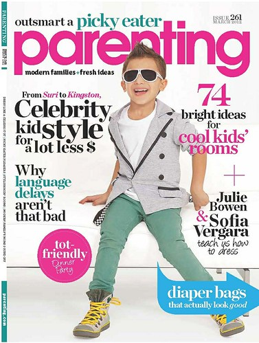 Parenting Cover March 2012 | by The Shade Store