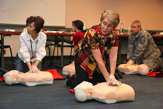 First Aid and CPR training at district headquarters | by USACE-Sacramento District