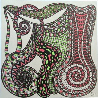 Zentangle 4-16-12 | by terry_lynn_12