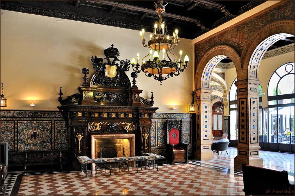 Sevilla hotel alfonso xiii lounge 6 8 calle san - Hotel alfonso xii sevilla ...