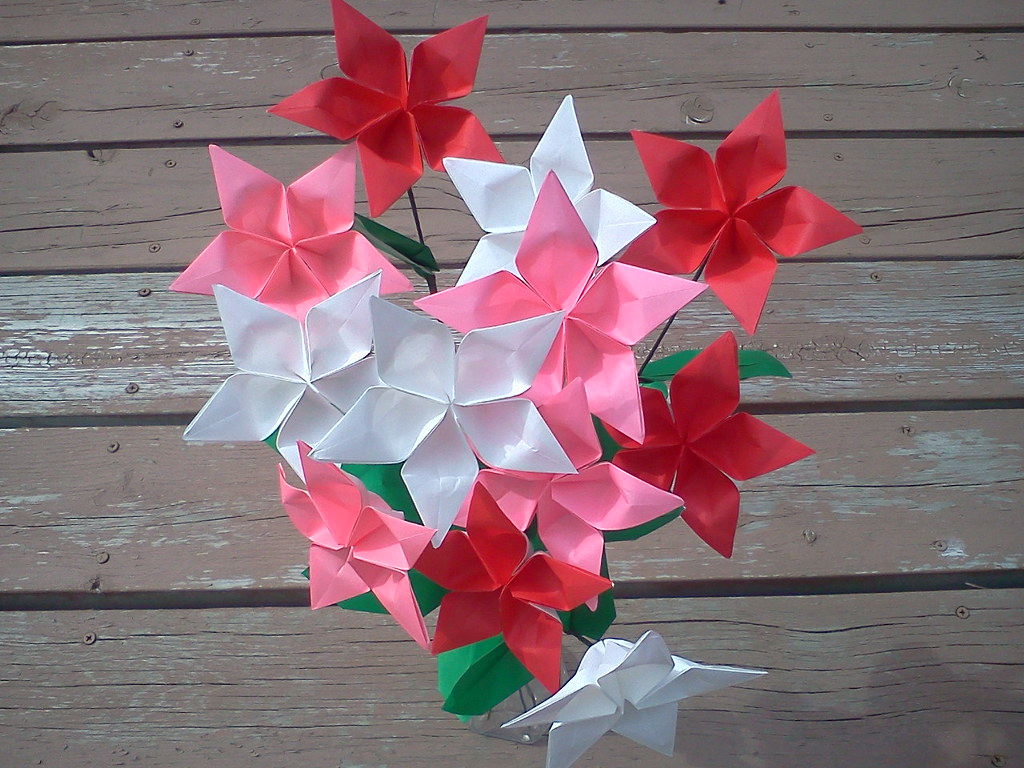 Origami Twinkle Star Flower Check Out My Profile If You Wo Flickr