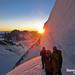 Mont Blanc, Chamonix - Xtreme Climbing @sunrise