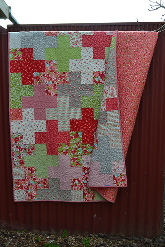 Ruby Plus Quilt | by sew&sews