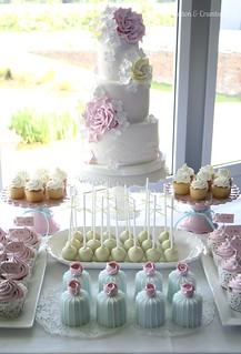 Cake table | by Cotton and Crumbs