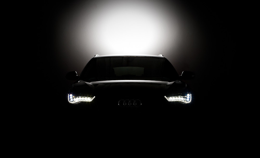 Audi A6 2012 Led Black 2012 Audi A6 With Led Headlight