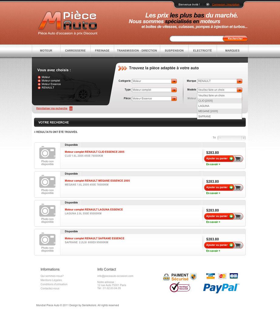 mondial piece auto piece d occasion site internet e comm flickr. Black Bedroom Furniture Sets. Home Design Ideas