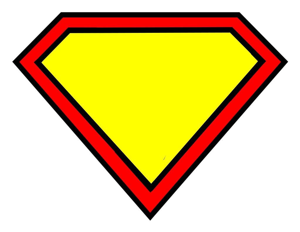 Superman logo blank stephanie flickr for Superman logo template for cake