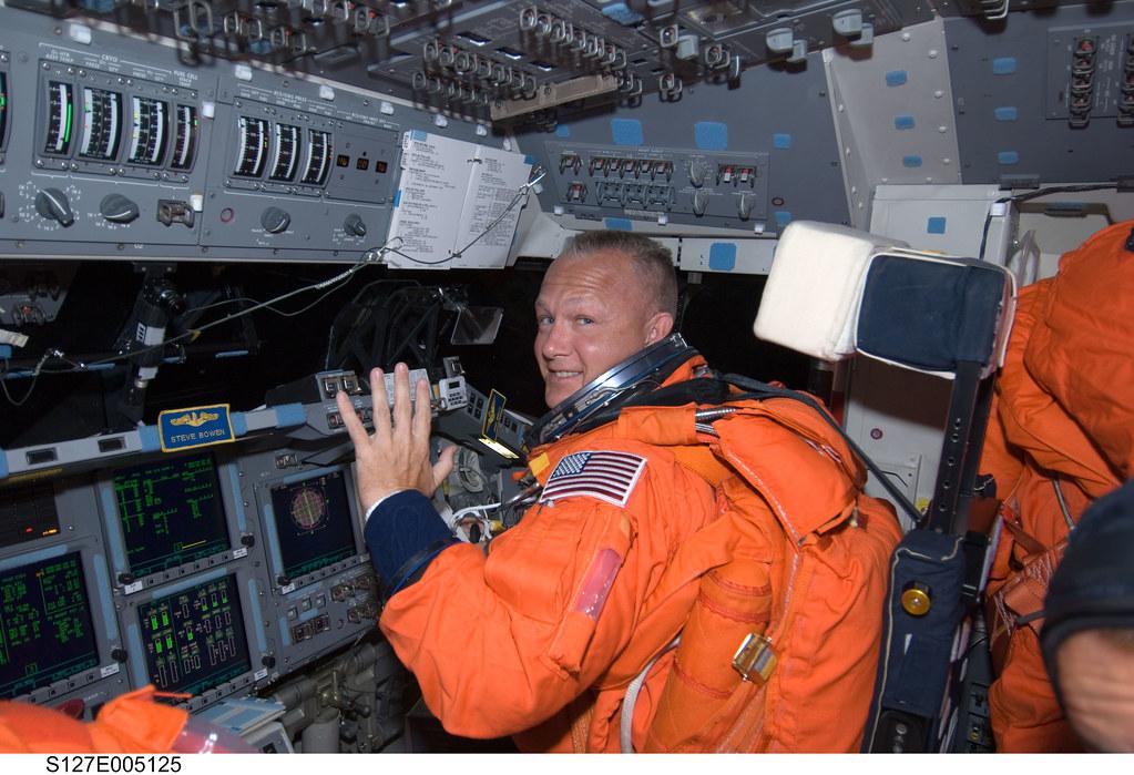 s127e005125   View of Astronaut Doug Hurley, STS-127 Pilot ...