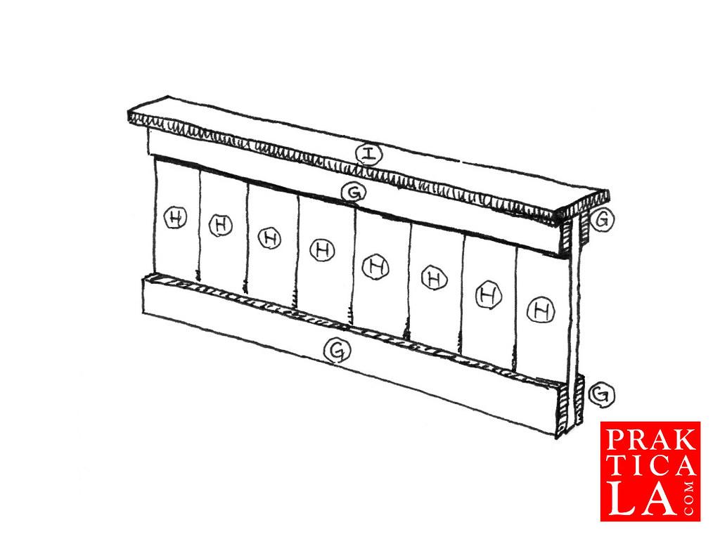 diy hardwood bed frame