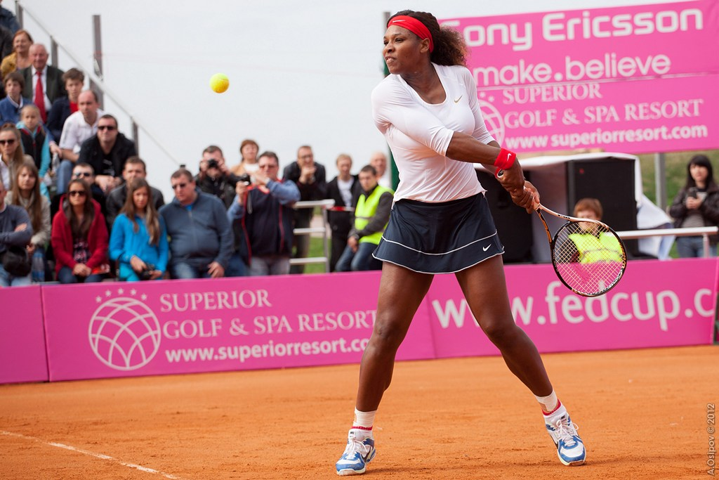 Serena Williams - Women's Day 2016