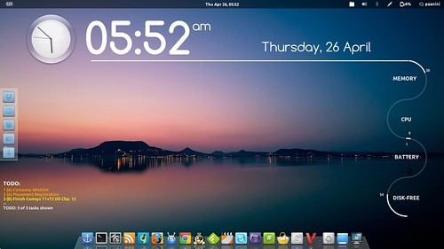 My Arch Linux setup with Gnome-Shell | by Paanini_N