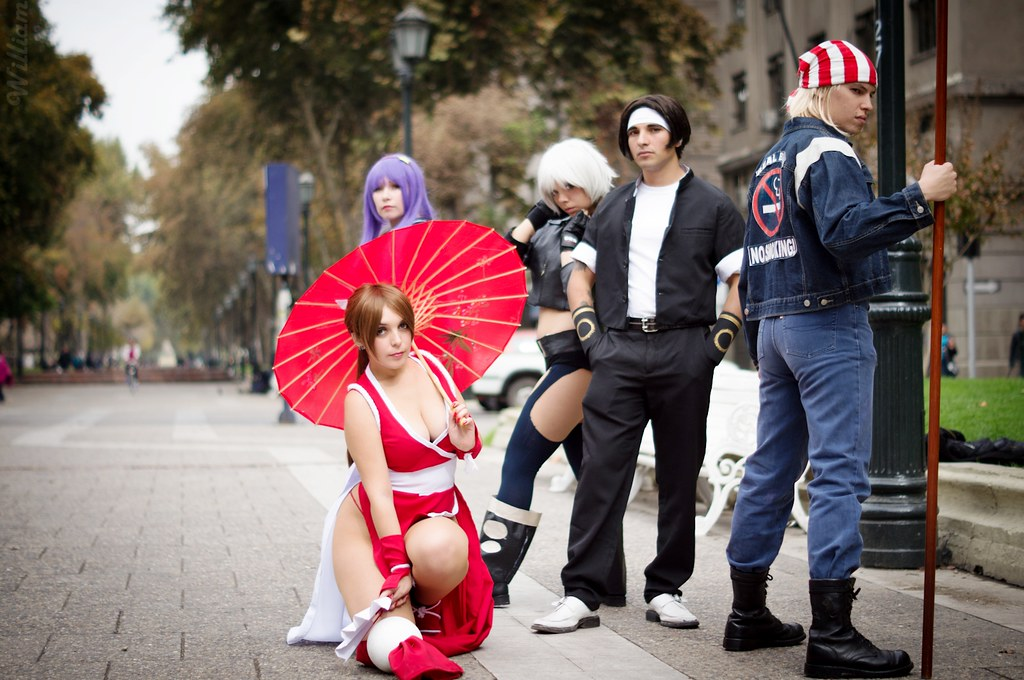 Cosplay deviants mai shiranui are right