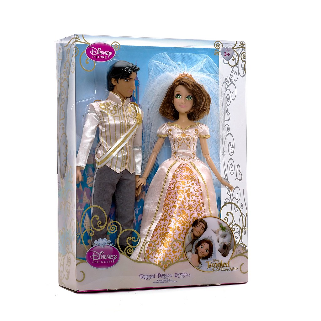 ... Rapunzel \u0026 Flynn Wedding Doll Set - UK Disney Store Release 2012-06-07  sc 1 st  Flickr & Rapunzel \u0026 Flynn Wedding Doll Set - UK Disney Store Releas\u2026 | Flickr