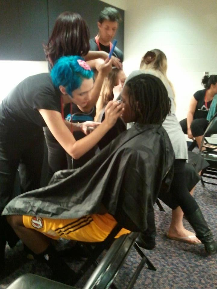 Clary Sage Makeup Artists & the Tulsa Shock