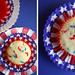 Fourth cupcake wrappers