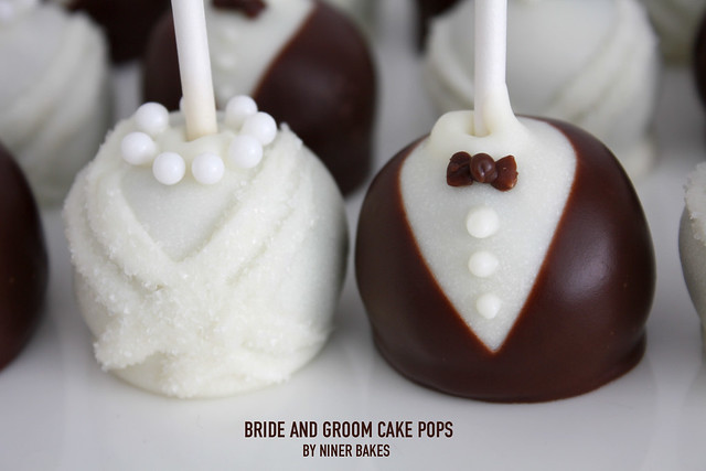 bride and groom wedding cake pops wedding cake pops and groom flickr photo 12123