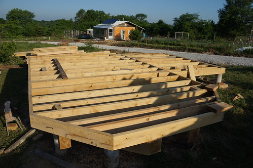 Platform done ziggy liloia flickr for Cabin foundation piers