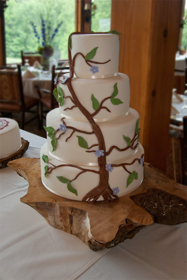 vine wedding cake tree and vine wedding cake debi flickr 21596