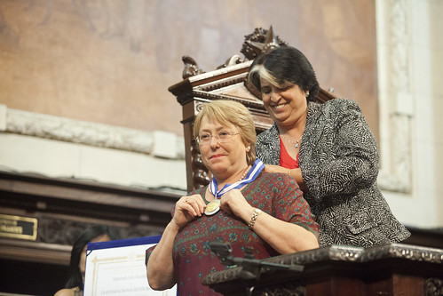 UN Women Executive Director Michelle Bachelet receives the Tiradentes Medal | by UN Women Gallery