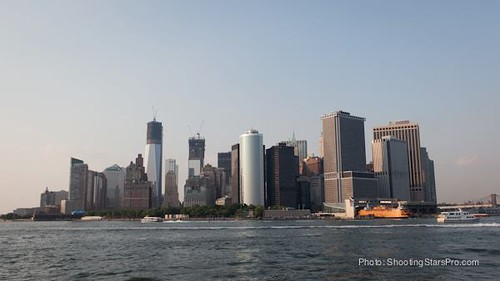 Wall St skyline & the Staten Island Ferry | by Greenpoint Film Festival