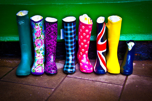 Colorful Boots - Woodhall Spa, Lincolnsire UK | by ChrisGoldNY