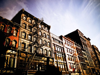 Stairways to the Sky - Broadway Buildings - Soho - New York City | by Vivienne Gucwa