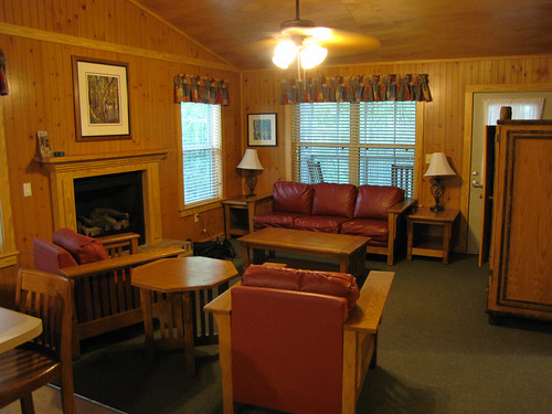 Cabin living room George L Smith Cabin the living room… Flickr