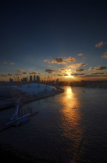 london city sunset | by mariusz kluzniak