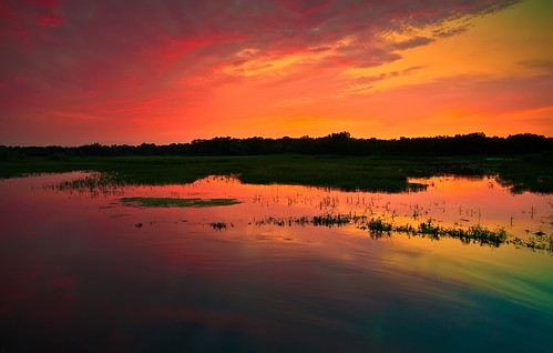Moody Light and Reflection... Wright County, Mn. | by Jeff J.......