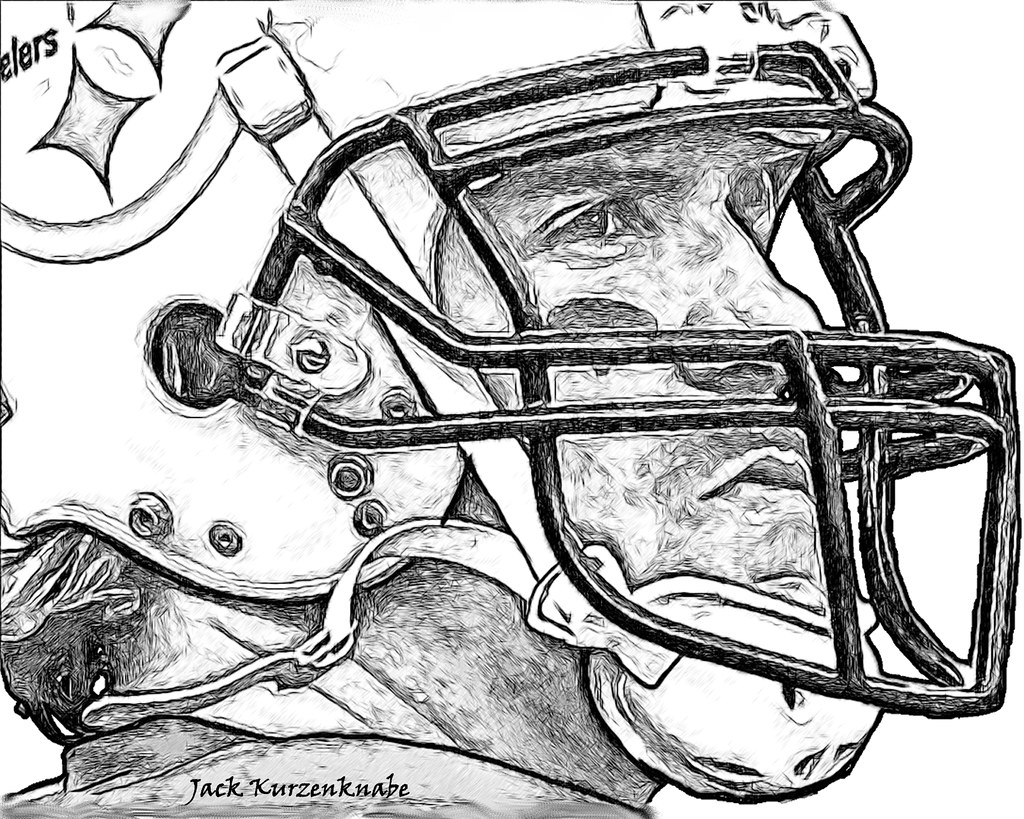 steelers coloring book pages printable clipart library