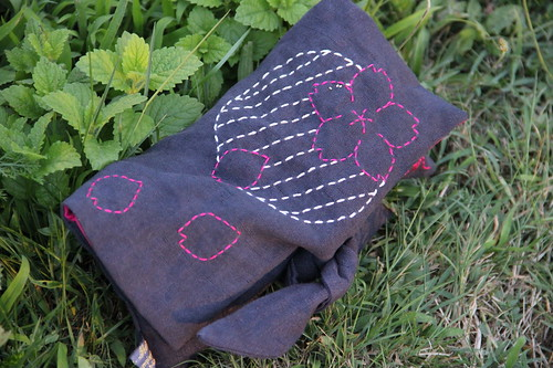 Pochette Sashiko Myriam | by wildmary