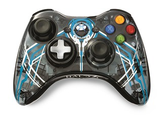 "Xbox 360 Limited Edition ""Halo 4"" Controller 