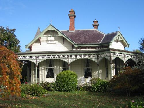 A Block Fronted Victorian Gothic Mansion - Ballarat