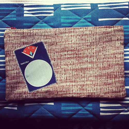 AM Radio Pouch No. 1 | by Stitchliterate