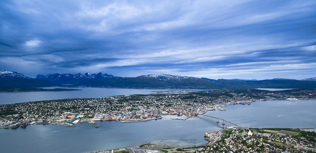 Get Free Credit Report >> Utsikt fra fjellheisen i Tromsø | View from the cable car. T… | Flickr