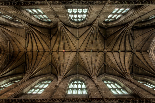 Chester Cathedral Ceiling (13x exposure HDR) - The South Transept | by Mark Carline