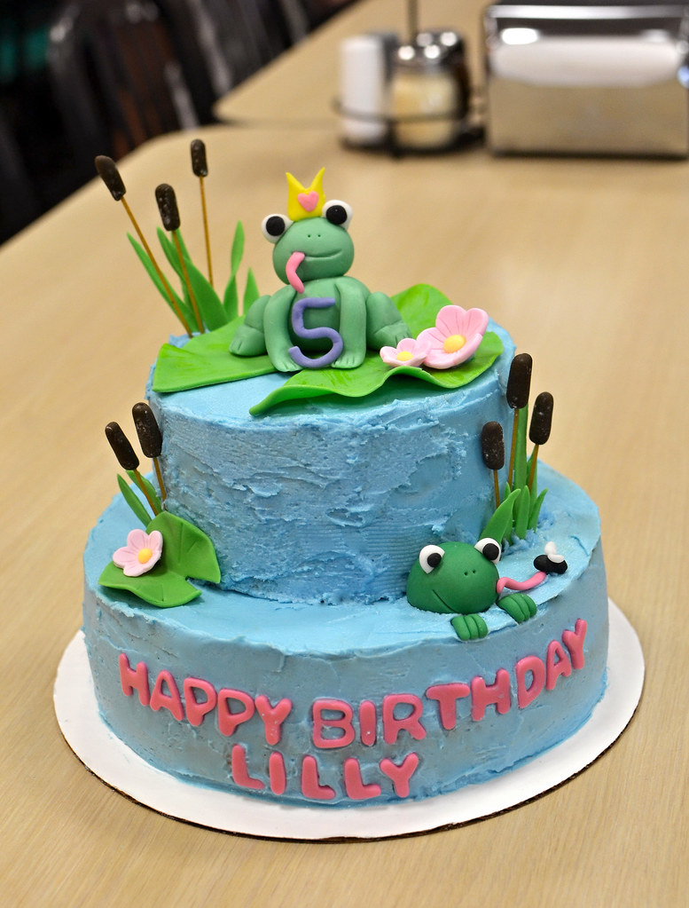 how to make a 3d frog cake