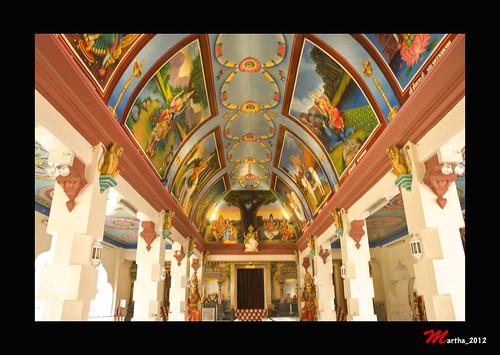 The inside interior of Sri Mariamman Temple | MGunawan ...