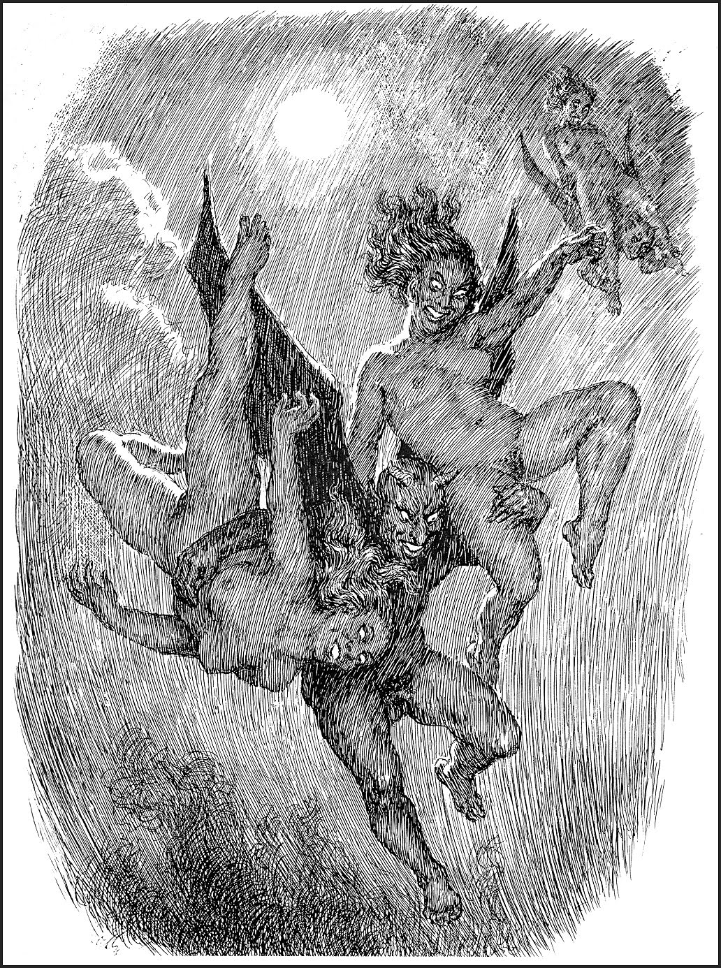 Norman Lindsay - Devils & Witches: Witches Dance, 1923