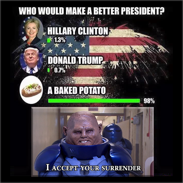 Who Would Make a Better President | Who would make a better ...